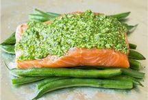 Mange ton poisson ! / Recettes de poisson ou de carpaccio de poisson.