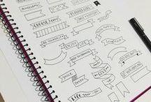 inspo | doodles & handwriting ✒
