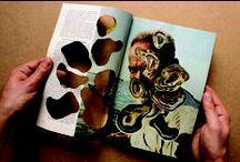Cut books and magazines / cut art magazine / book