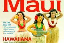 Maui No Ka Oi Covers / Covers from the past couple years of Maui No Ka Oi Magazine