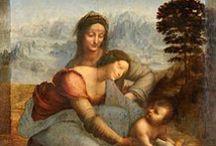 Schilderkunst eind 15de en begin 16de eeuw / Werken van Leonardo da Vinci, Jheronimus Bosch, Sandro Botticelli en Rafaël Santi.