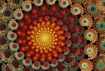 Spiral Fractal Art / The Art of Melanin