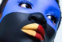 Moor of Her Colors / Colorful Makeup