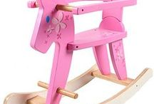 Hessie Rocking Horse-Balancín Caballo Madera / Hessie cute rocking horse,fashion style,high quality.