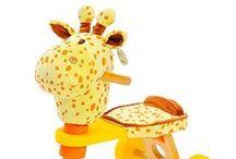 Hessie Toy Cart