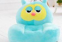 Sofas para niños / cute sofa,calidad alta,diseño vivo,color brillante