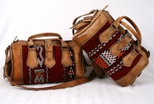 yunikun leather bags / Leather bags, handmade and fairtrade made in Morocco   with love ;)