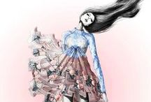 fashion illustrations / by Wieke