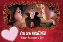 #HotelT Valentine's Day cards! http://bit.ly/VRfCH5 / by Hotel Transylvania