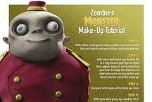 #HotelTHalloween - Make-up Tutorials / Transform yourself into a #HotelTransylvania character this Halloween with these make-up tutorials. Find more here: http://hotelt.tumblr.com/ #HotelTHalloween / by Hotel Transylvania