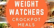 Weight Watchers Crock-Pot Meals / Slow Cooker recipes with WW smart points. Get it going in the morning, so you can take it easy in the evening.