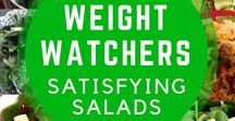 Satisfying Salads / Satisfying salads with Weight Watchers SmartPoints.