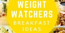 Better Breakfasts for Weight Watchers / breakfast recipes and ideas with Weight Watchers smart points