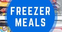 Freezer Meal Ideas / Make ahead or cook right away freezer meal recipes.