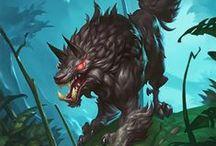 Blizzard Art - WoW, Hearthstone