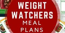 Weight Watchers Meal Plans / Free meal plans, Weight Watchers meal plans with smart points, Free printable grocery lists
