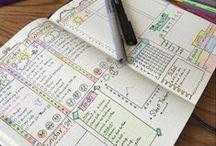 Journal & Planner Inspiration / Bullet journal spreads, ideas, and inspiration