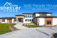 2016 Parade Home / Our 2016 Parade home is located in Rock Creek Rim Estates, Twin Falls, ID. It is a spectacular spacious modern design featuring over 8,000 square feet, 2 full size kitchens, 20 foot ceilings, an impressive 1/2 basketball court inside the oversized garage, indoor/outdoor kitchen, splash pad and fire features, stunning views and a master suite like you have never seen before. This year we took 1st place in Kitchen, Master Suite, Master Bath and we took 2nd place in the People's Choice category.