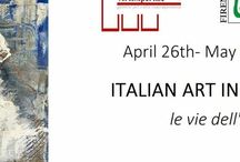 """londra london / GALLERIA D'ARTE MENTANA   P.zza Mentana 2/3r - 50122 (Fi)  Alla:  """"Crypt Gallery"""" Euston Road, Kings Cross, NW12BA, London, U.K.  Con la mostra: """"ITALIAN ART IN LONDON""""  Le vie dell'arte  April 26th – May 6th 2017  Free entry"""