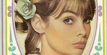 Inspiration 60s / Le guide du meilleur des sixties mode, accessoires, make up et déco pour un style années 60
