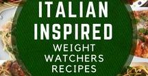 Italian Recipes with Smart Points / Weight Watchers friendly Italian inspired recipes with Smart Points.