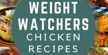 Chicken Recipes with SmartPoints / Weight Watchers friendly recipes with chicken as the main ingredient.