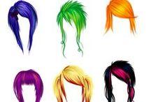 Imma PhD! *(Professional Hair Dresser)  / Hairspirations / by Julie Scissorhands