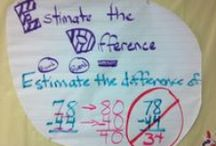 School~{Anchor Charts~Math}
