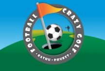 FOOTBALL CRAZY GOLF   KATHU / Peter runs this fun activity in beautiful surroundings in Thailand, have a look on your next visit your'll have a great time / by NannyCheryl Original