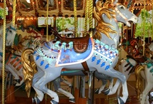 Carousel Horses / ...standers, prancers, jumpers, & stargazers; old, new, & some solely ornamental / by Carmen Williams