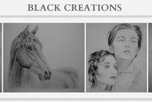// B l a c k   C r e a t i o n s ▪ / ▪ Pencil drawings by Shanna Caitlin ▪ WWW.BLACKCREATIONS.NL ▪