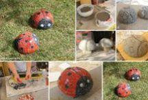 Garden DIY Ideas / The best collection of garden diy ideas that you can create....
