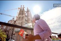 Barcelona City Hop-On Hop-Off Tour / Discover Barcelona at your own pace on a double-decker hop-on hop-off bus tour! Choose from 1 or 2 days and access 2 routes with stops at the best sites in Barcelona! Plus, enjoy audio commentary in 12 different languages as you travel through the city.