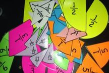 Math--Fractions / Tips, tricks, photos, ideas, and classroom resources for teaching elementary, upper elementary, and early childhood math. Scroll to find lessons, interactive notebooks, lap books, projects, anchor charts, books, anchor charts, worksheets, and free activities. Topic include: fractions on a number line, equivalent, comparing, and ordering fractions!