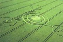 Crop Circles / ...unusual, beautiful, & sometimes meaningful, designs - wish I could watch one being made! / by Carmen Williams