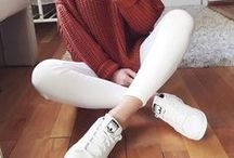 Casual Style / Women's Fashion, Casual Style Outfit Inspiration, Casual Style, Outfit Of The Day, Relaxed Fashion