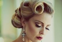 Wedding Hair / Makeup / Some hair and makeup ideas for 9-19-15 wedding at the library