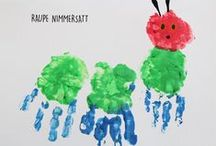 Raupe Nimmersatt // The very hungry Caterpillar / DIY for Kids