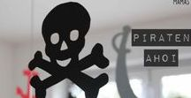 Piratenparty für Jungs // pirate party for boys / cool pirate theme party ideas for boys birthdays