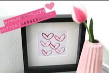 Muttertag Geschenk basteln // mothers day diy / Make lovely mothers day presents with your kids