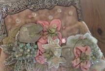 lace,silk,crochet ideas / by griselda govea