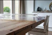 Tafelziel / Wat is Tafelziel. Een stijlvolle, transparante toplaag voor op je tafel.