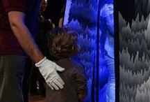Panoramique polyphonique / Finitions et inauguration de Panoramique polyphonique, de Cécile Le Talec, Grand Prix 2011 de la Cité de la tapisserie.  + d'infos : http://tinyurl.com/o7yugax