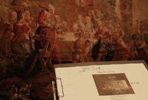 """Aubusson Tapisseries des Lumières / Montage de l'expo """"Aubusson Tapisseries des Lumières"""", exposition reconnue d'intérêt national.  Musée de la tapisserie, Aubusson // 15 juin>31 octobre 2013.  http://tinyurl.com/pajtyv5"""