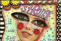 ART Journalling / Liberdade>letras>palavras>frases>pensamentos>imagens>free / by CRISTINA MELO
