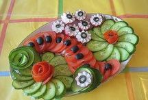 Food Garnishing Ideas / by Gloria El Saieh