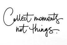 Say something...wonderful / Zitate und schöne Worte