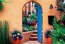 Mexican garden ideas / Various ideas Mexican Garden