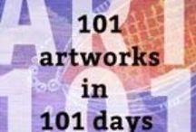 ART101 / Contains all my artsy cards for the Art101 challenge