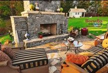 Hardscaping / We specialize in designing and developing outdoor living spaces that are both functional and fabulous. Let us build a custom exterior from the ground up or help up bring your own artistic vision from concept to reality.